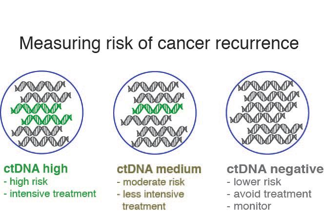 From this, clinicians can determine an effective risk factor for cancer relapse