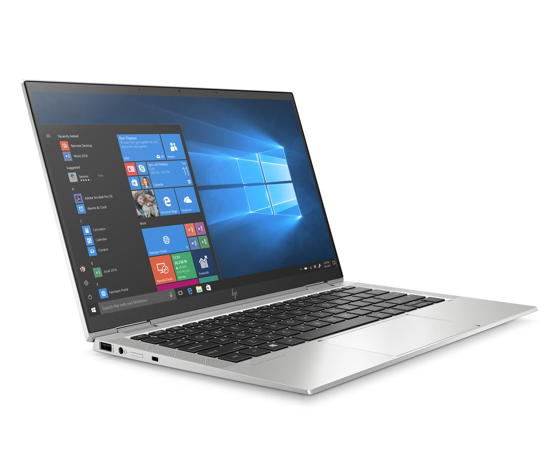 The EliteBook x360 1030 G7 convertible can be had with a 13.3-inch UHD touchscreen display