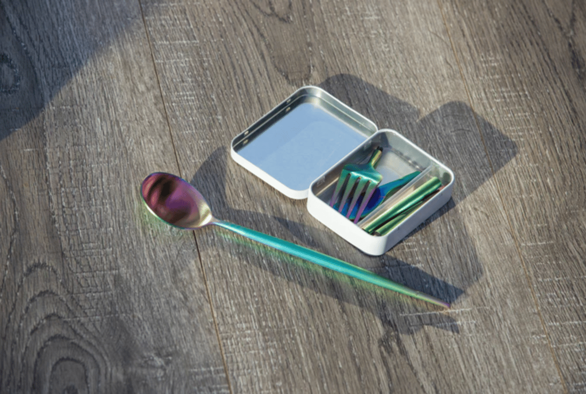 Outlery's reusable cutlery set is currently on Kickstarter