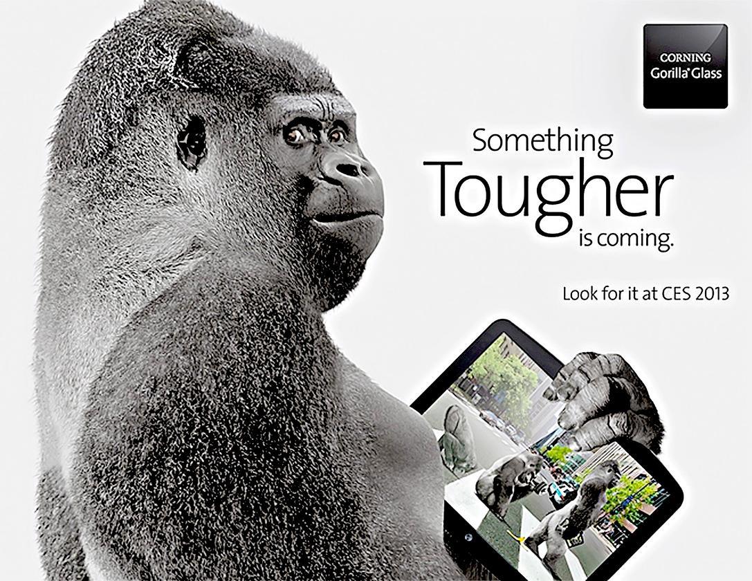 Gorilla Glass 3 is Corning's toughest glass yet