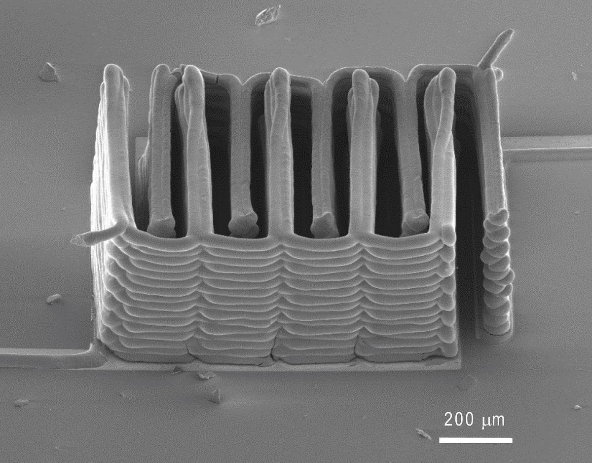 """One of the lithium-ion """"microbatteries"""""""