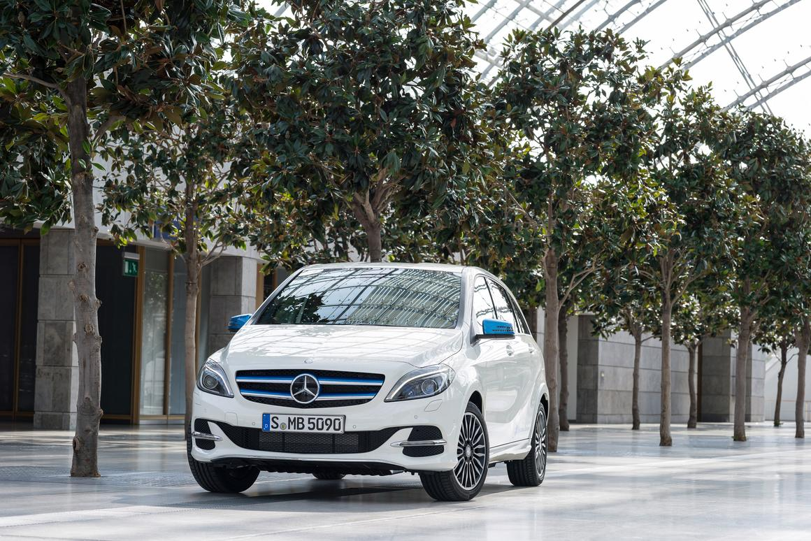 The B-Class Electric Drive draws on Mercedes' experience with the SLS Electric Drive