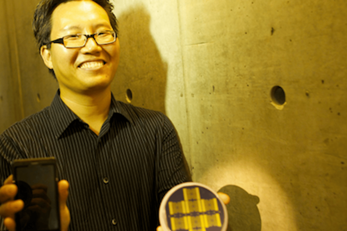 """Research headed by professor Nosang Myung at Bourns College of Engineering, UCR has resulted in an """"electronic nose"""" capable of detecting airborne toxins"""
