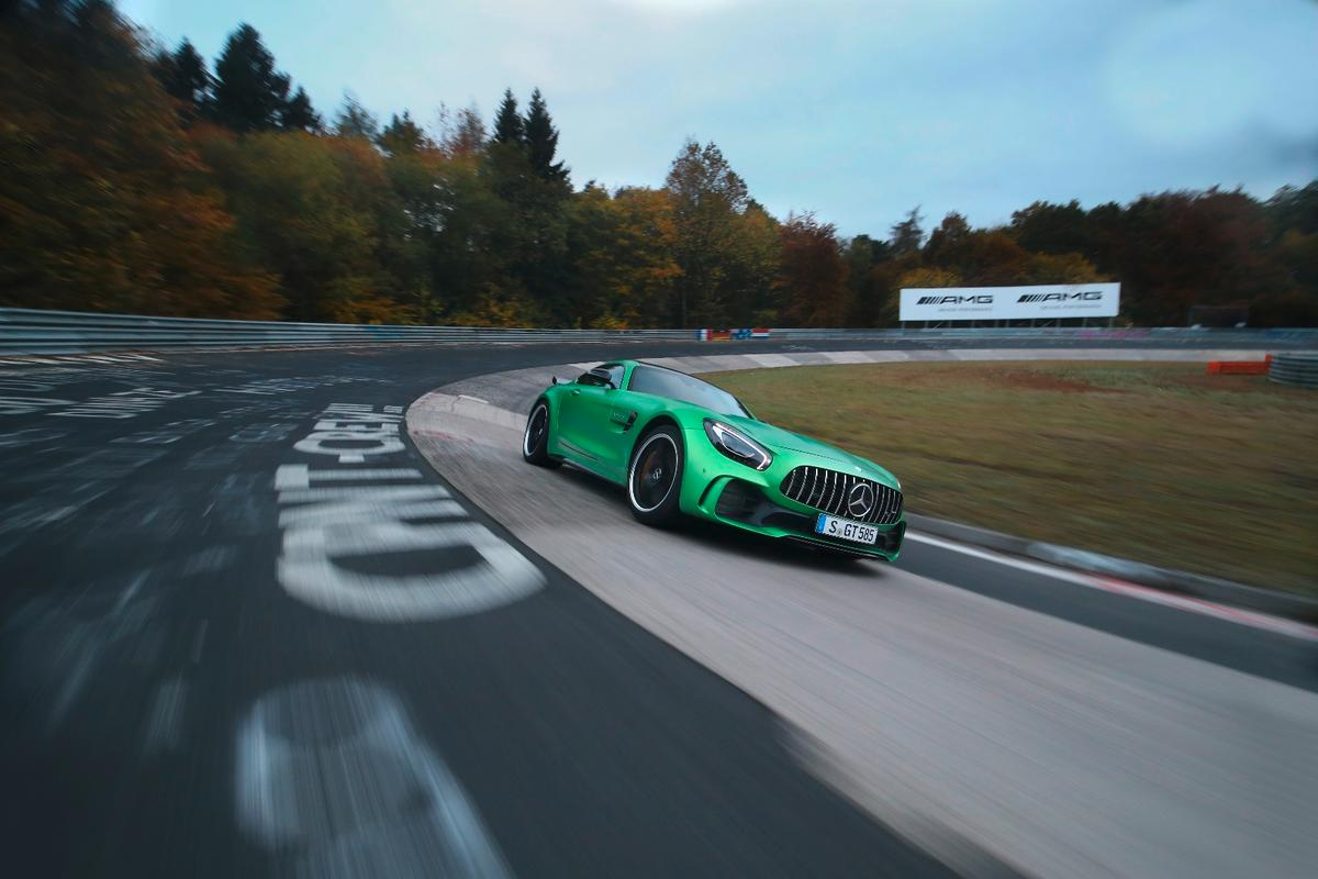 Mercedes has set a new record for rear-drive cars at the Nordschleife