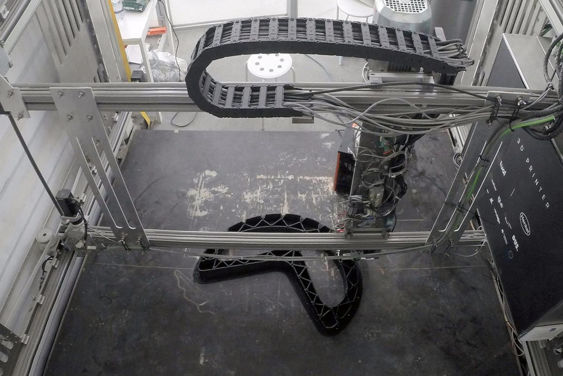 Print Your City! turns plastic waste into 3D-printed street