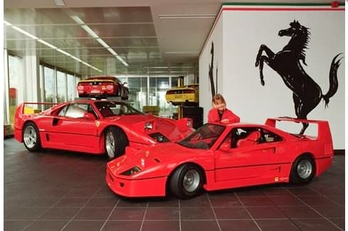 The mini Ferrari F40 - perhaps the only affordable Ferrari for most of us