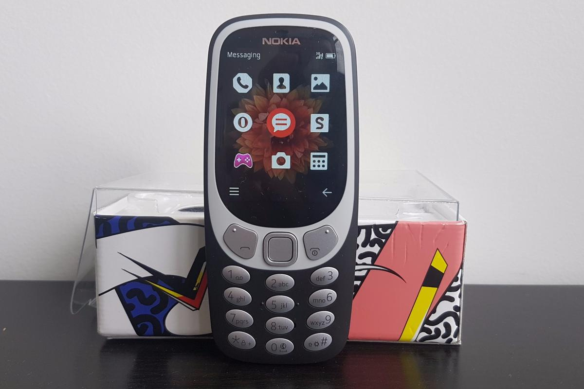New Atlas reviews the new Nokia 3310, a bare-bones phone dripping in early 2000s nostalgia
