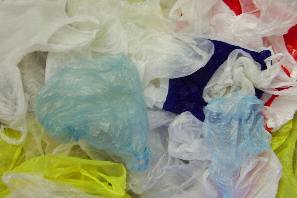 Plastic bags like these may one day be a common source of carbon nanotubes