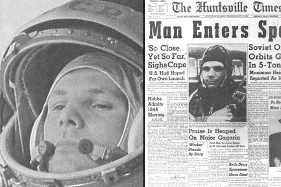 April 12 marks the 50th anniversary of the first man in space (Photo: NASA)