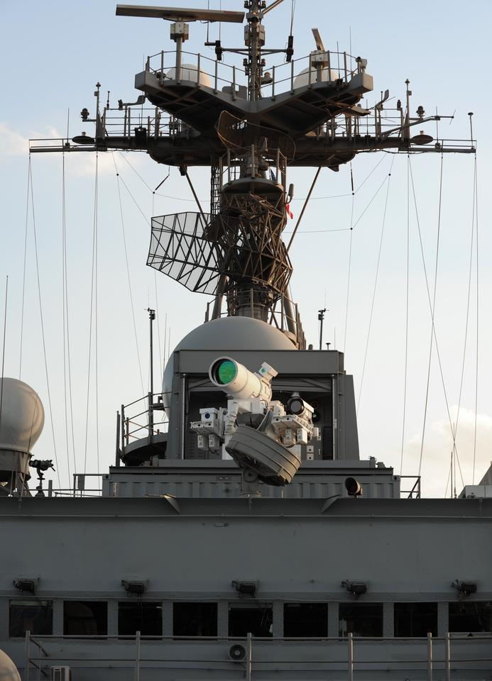 The laser weapon is designed to counter a range of threats (Photo: US Navy/John F. Williams)
