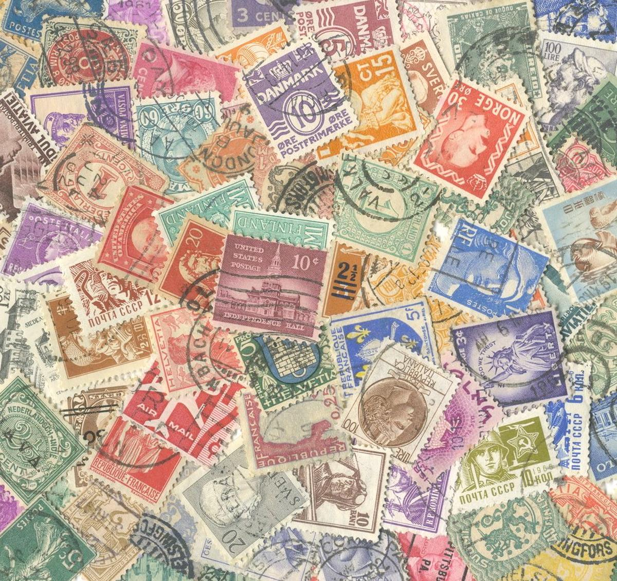 Scientists have discovered an easier new way of detecting bogus rare stamps (Image: Shutterstock)