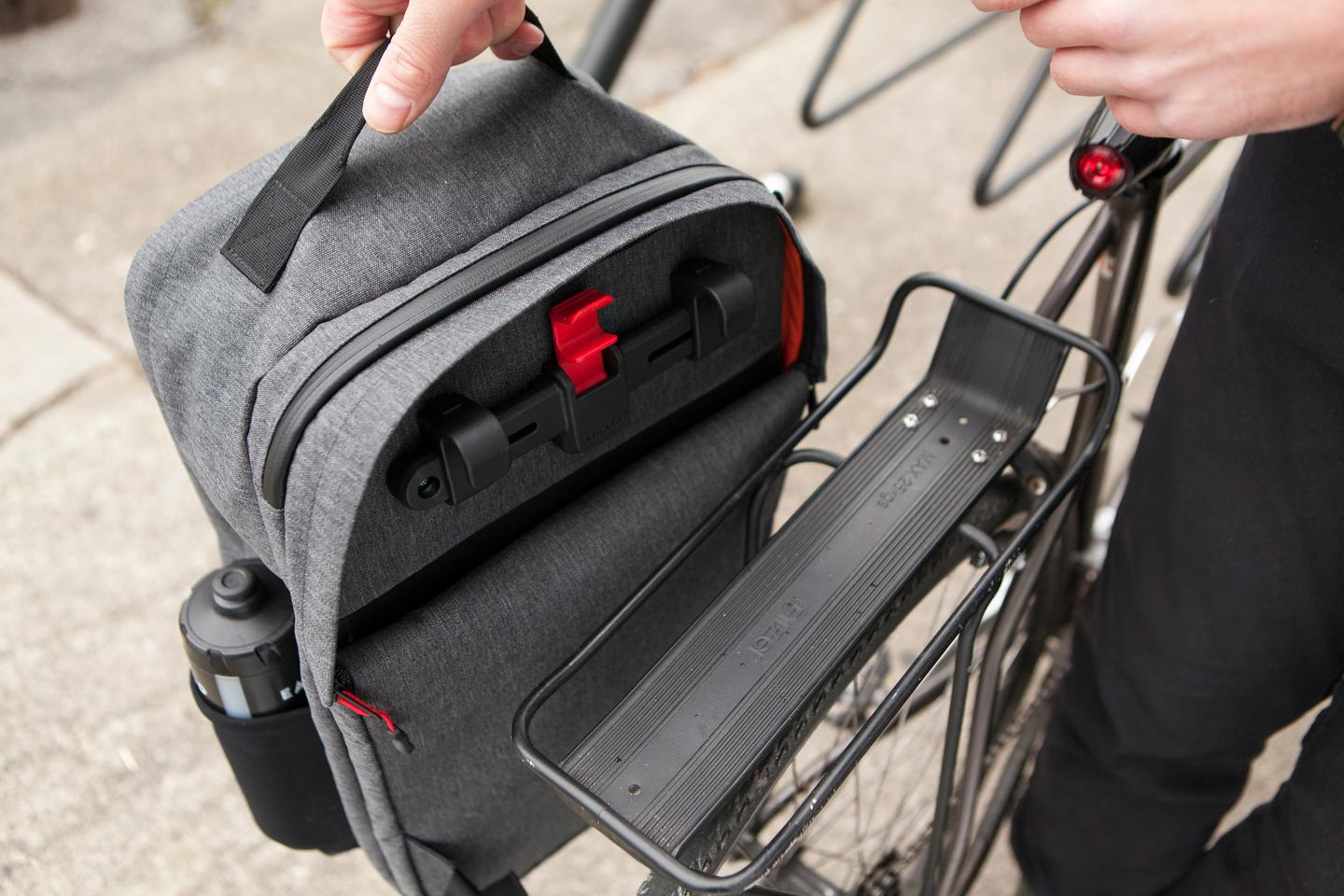 The pannier version of the Backpack