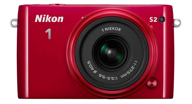 The Nikon 1 S2 features a 14.2 megapixel CX-format CMOS sensor