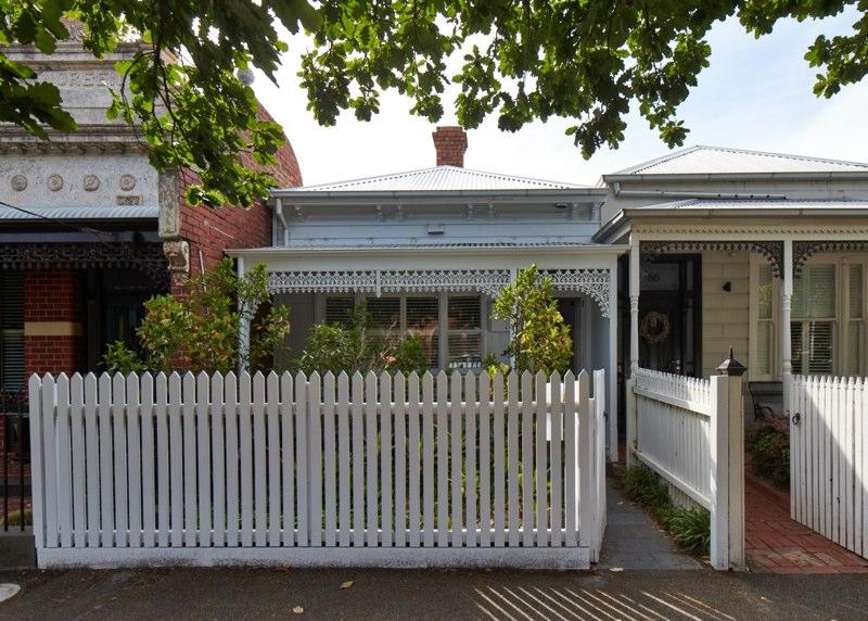 The project involved the extension of a typical Melbourne terrace