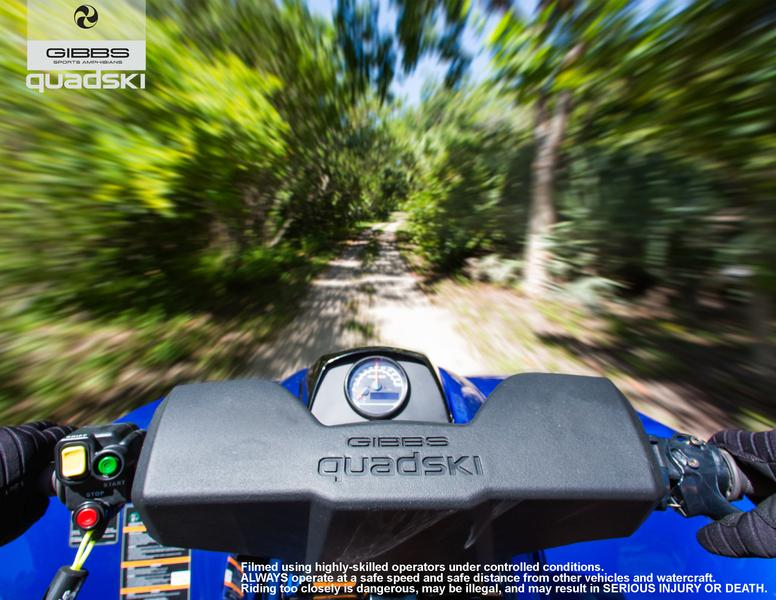 A drivers' view from the GIBBS Quadski