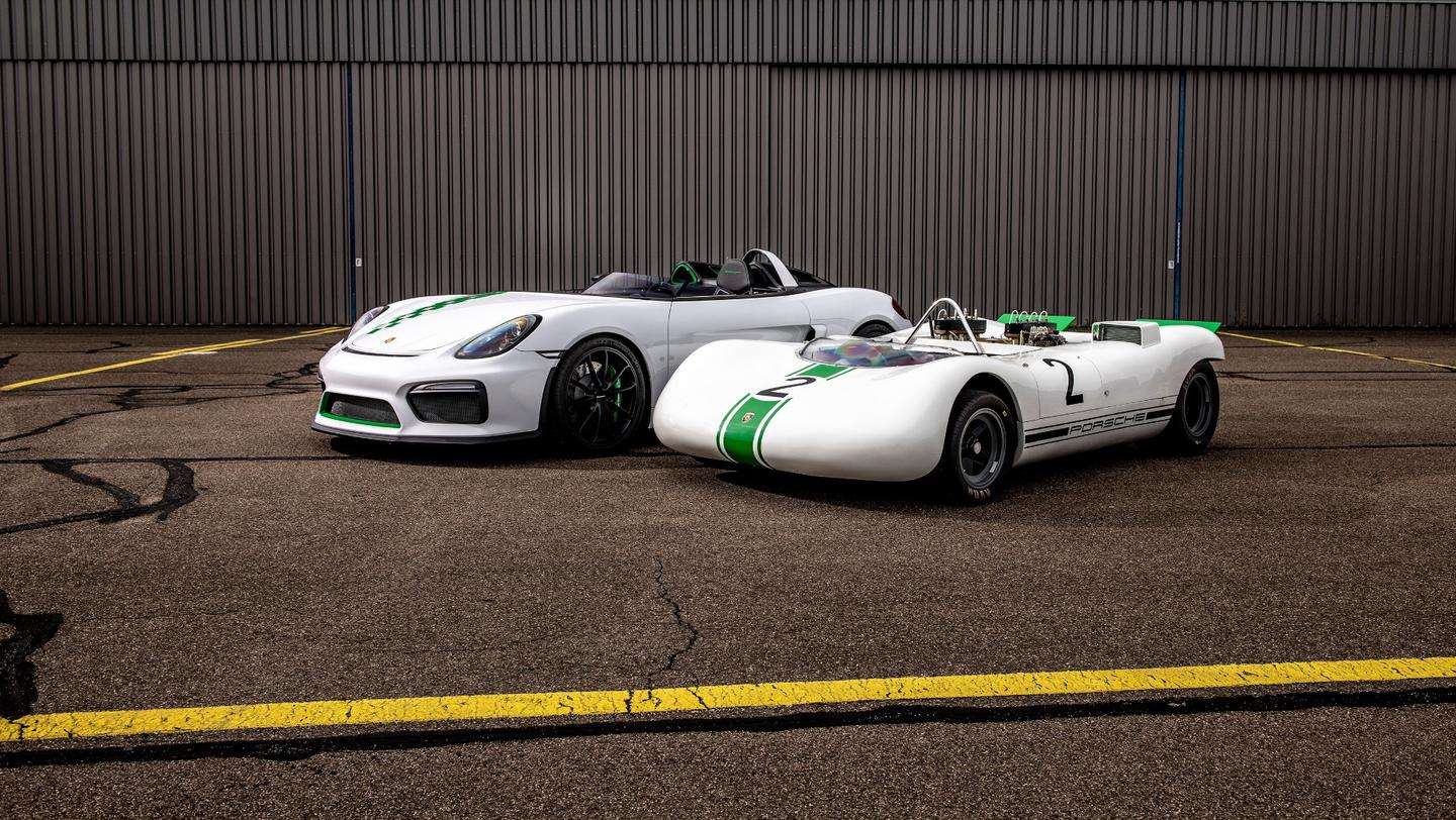 The 981 Bergspyder with its 1960s inspiration
