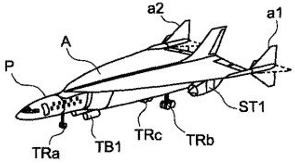 The Airbus supersonic aircraft is designed to reach speeds of up to Mach 4.5