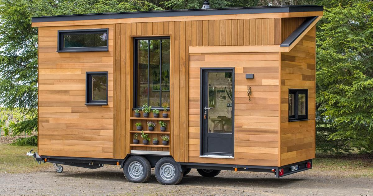 Astrild Tiny House shoehorns a family into 20 ft