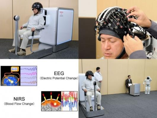 Honda demonstrates its brain-machine interface