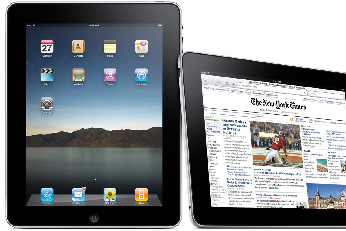 Apple's US$500 iPad
