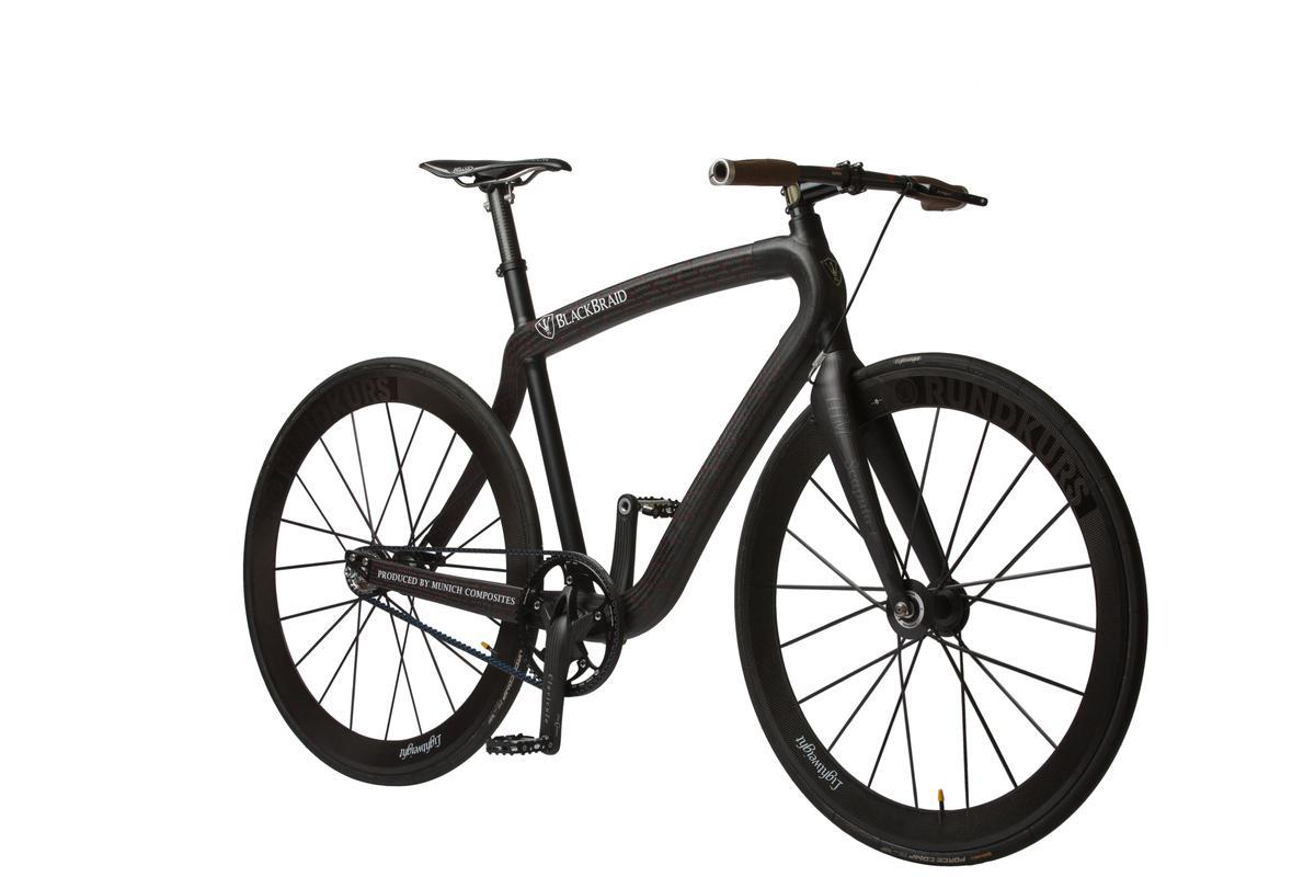 PG-Bike's new ultra-light BlackBraid Fixed commuter bike (Photo: PG.DE)