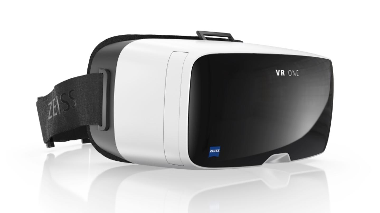 Like the Samsung Gear VR, the VR One uses a smartphone for its processing and display