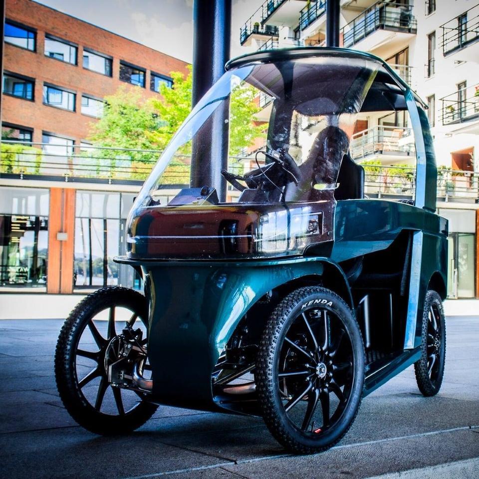 معرفی و بررسی دوچرخه الکتریکی Ebik چهار چرخ CityQ