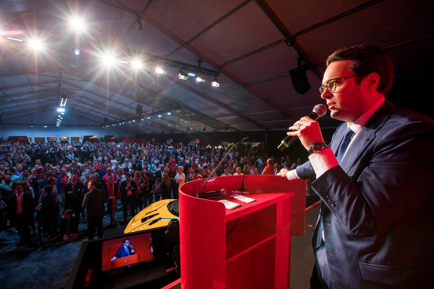 The $7 million fetched by the LaFerrari is a record for a 21st century automobile at a public auction