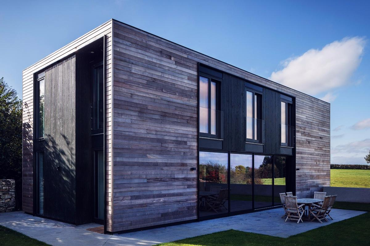 Each Kiss House is a certifiable Passivhaus, a building standard which focuses onreducing a home's heating demand and primary energy consumption