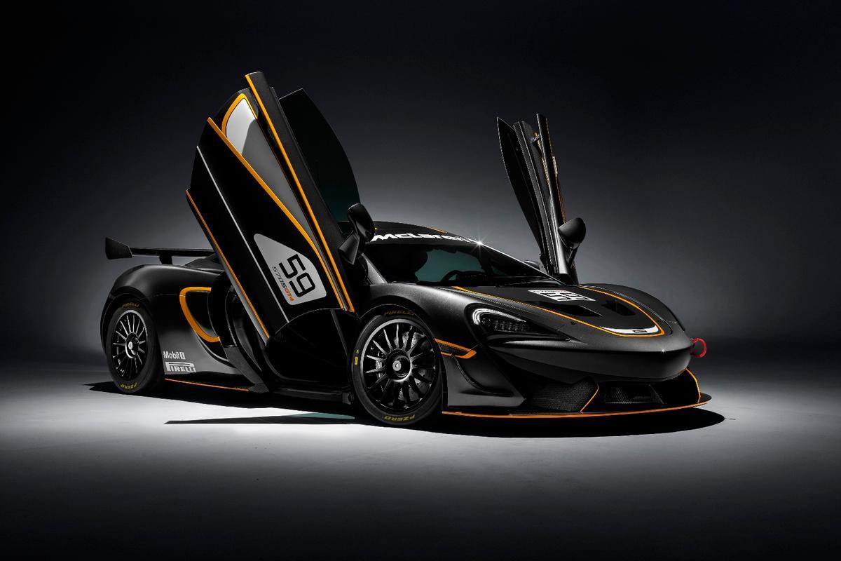 The 570S GT4 will slot in below the 650S GT3 in McLaren's lineup