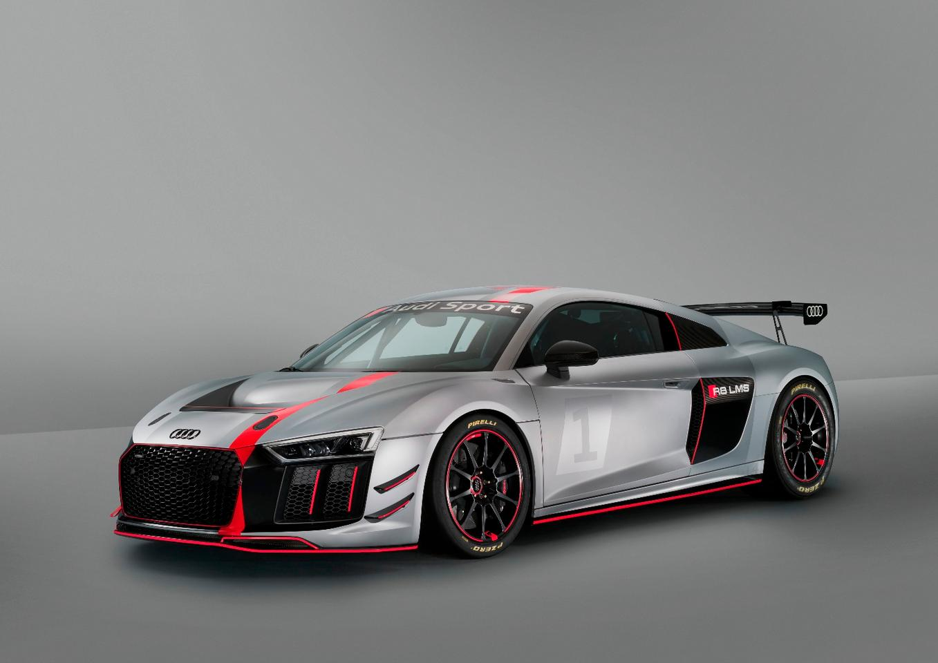 The GT4 LMSshares 60 percent of its parts with the road-going car
