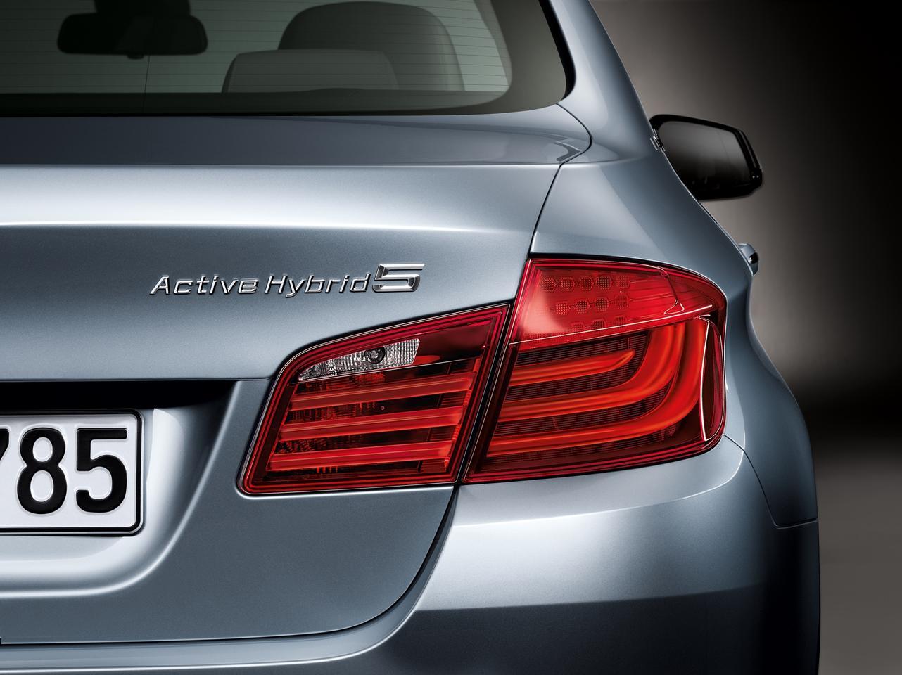 BMW's ActiveHybrid 5