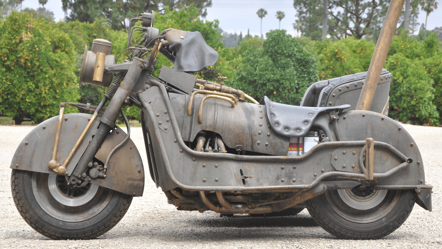 Steampunk meets Roman chariot in unique Honda Goldwing