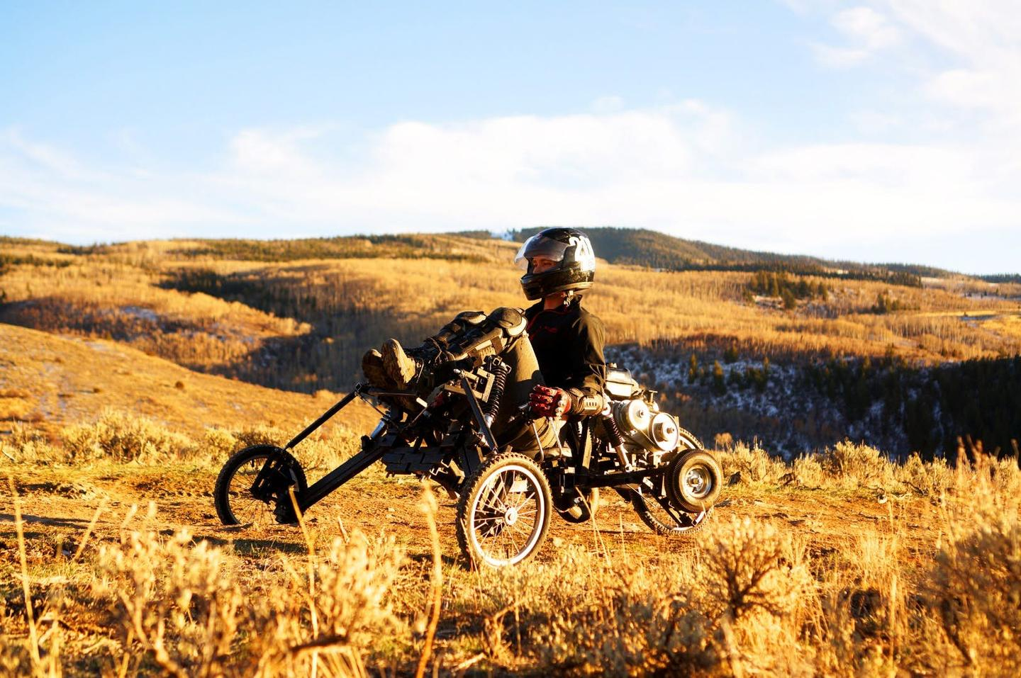 The Comanche recumbent trike