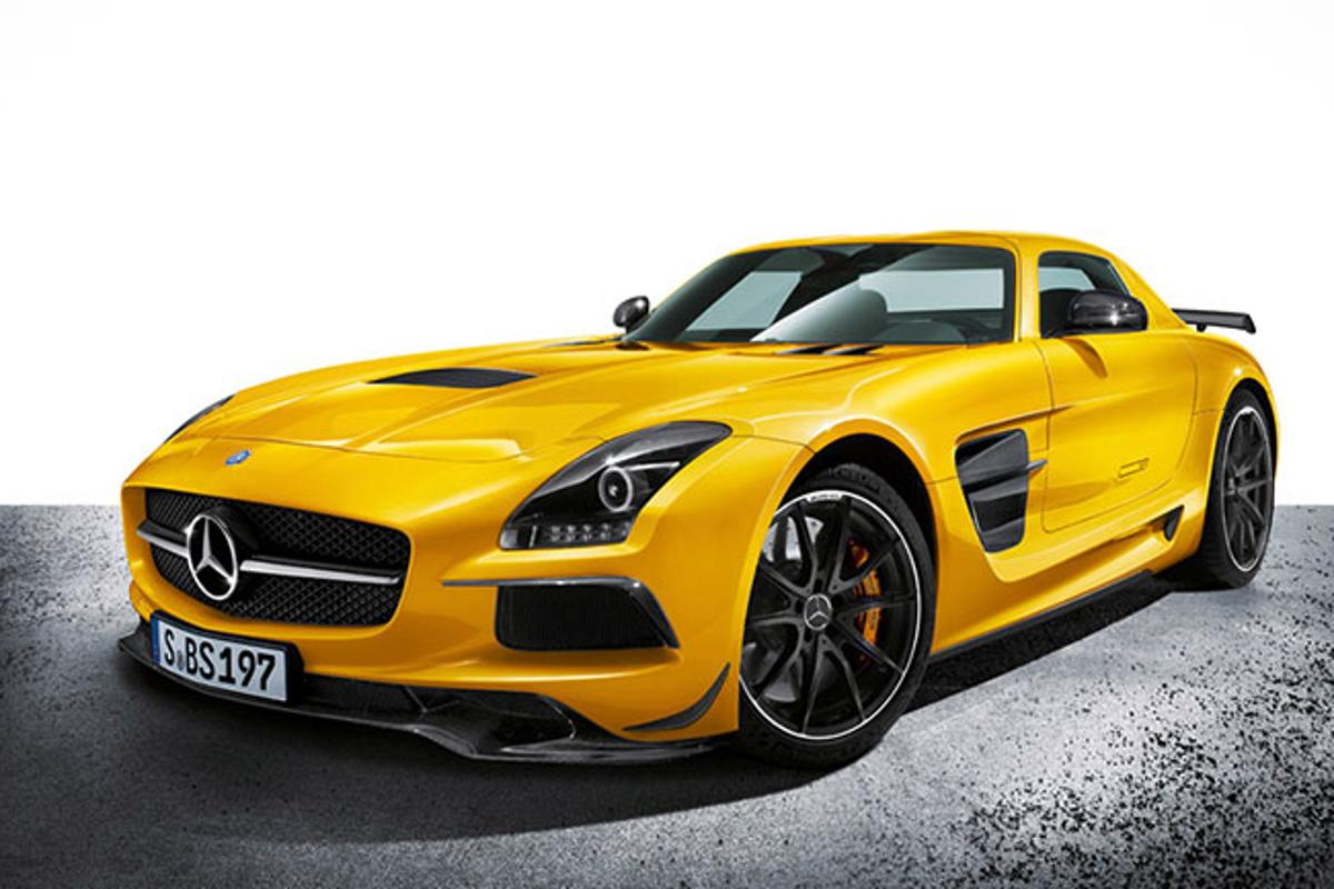 2014 Mercedes-Benz AMG SLS Black Series