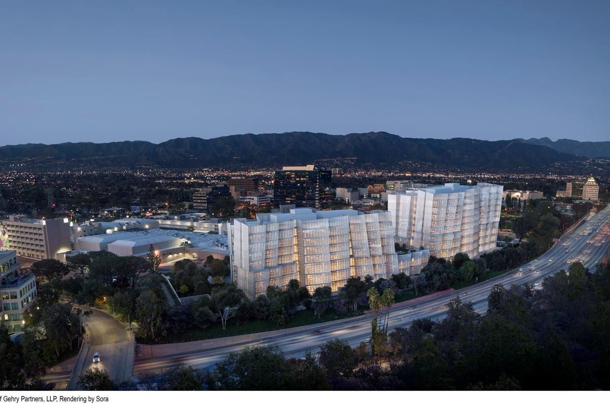 The Second Century Project will consist of two buildings in Burbank, California