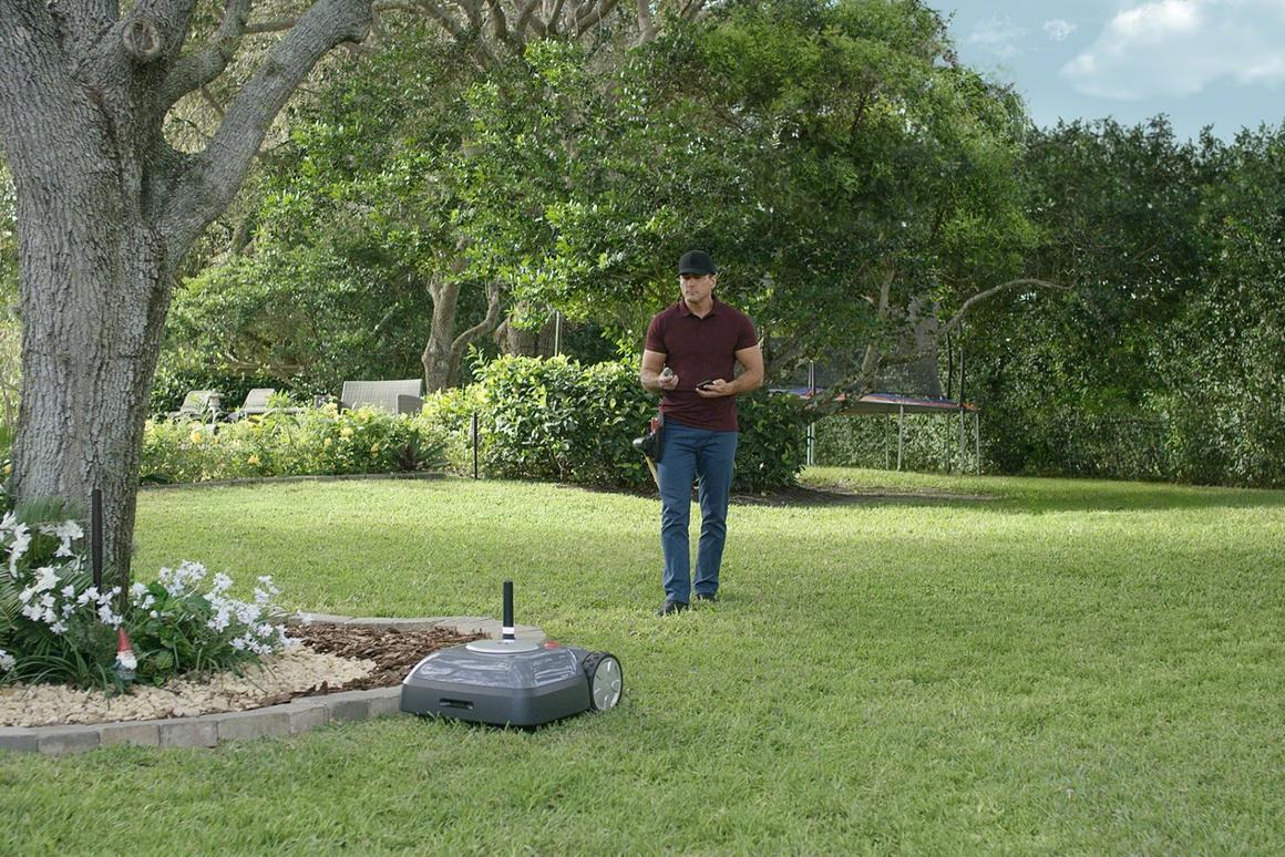 A tidy lawn without the back-breaking effort: iRobot is introducing the Terra robot mower later this year