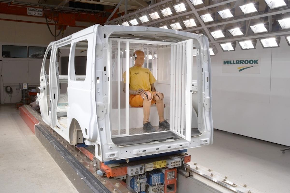 Vauxhall builds a safer police van