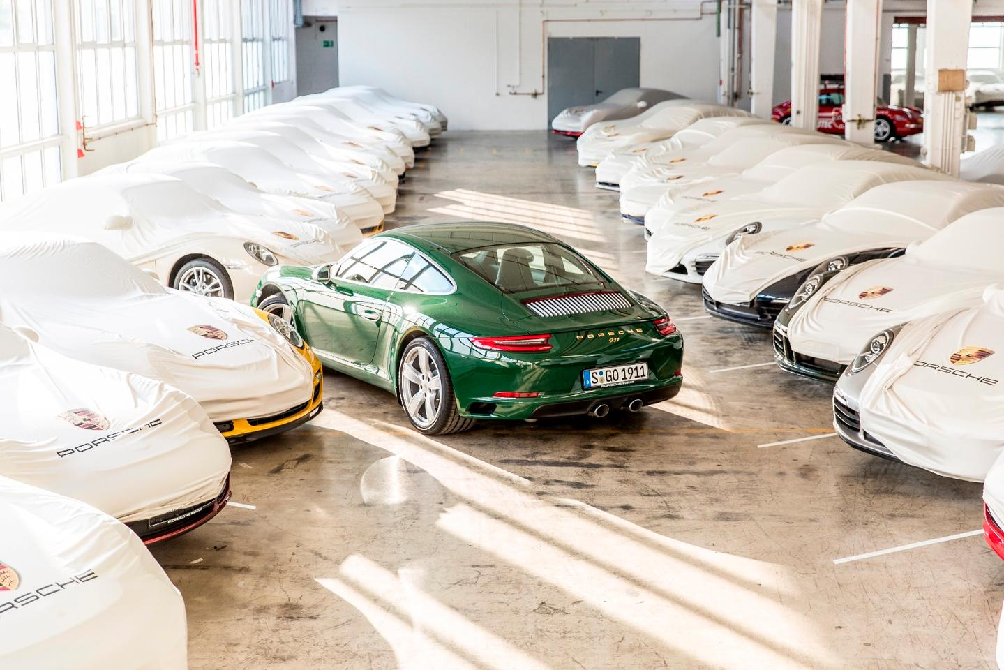 The millionth 911 is bound for the Porsche museum