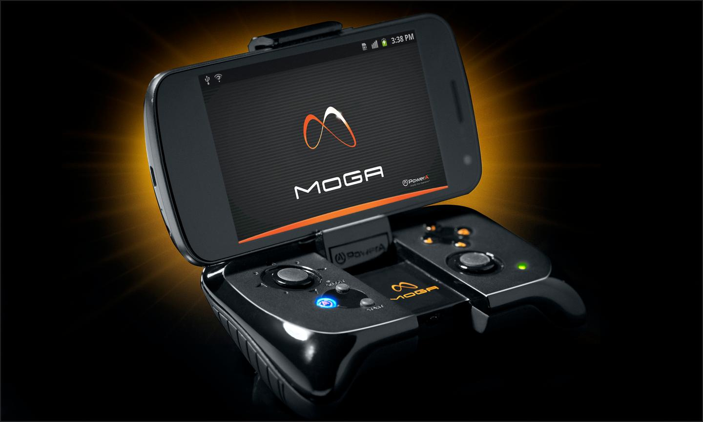 The PowerA MOGA provides a tactile response not found with a touch screen