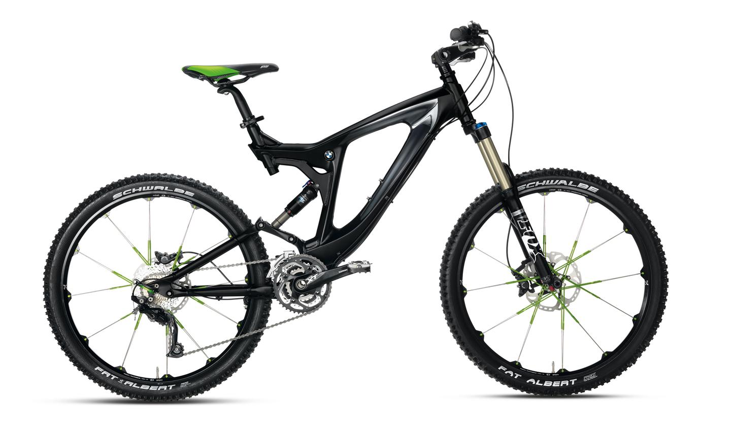 BMW's 2012 Mountainbike Enduro boasts the most changes from the 2011 model
