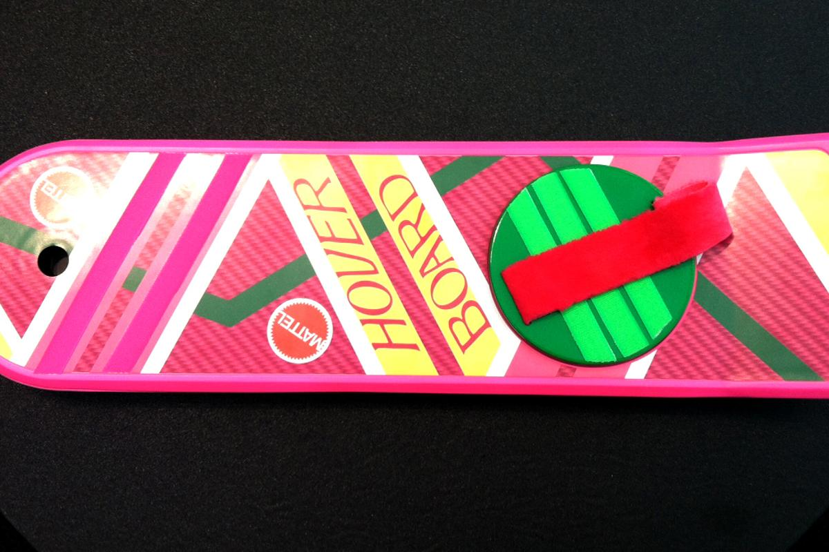 Mattel will be releasing a replica of the iconic hover board featured in the Back to the Future movies (Photo: Mattycollector.com)