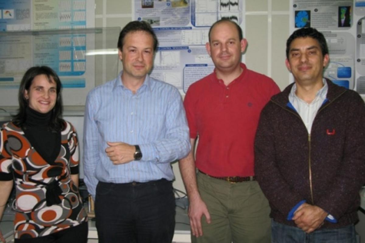 Research team (left to right): Estibalitz Asua, Victor Etxebarria, Jorge Feuchtwanger and Alfredo García.Irati Kortabitarte