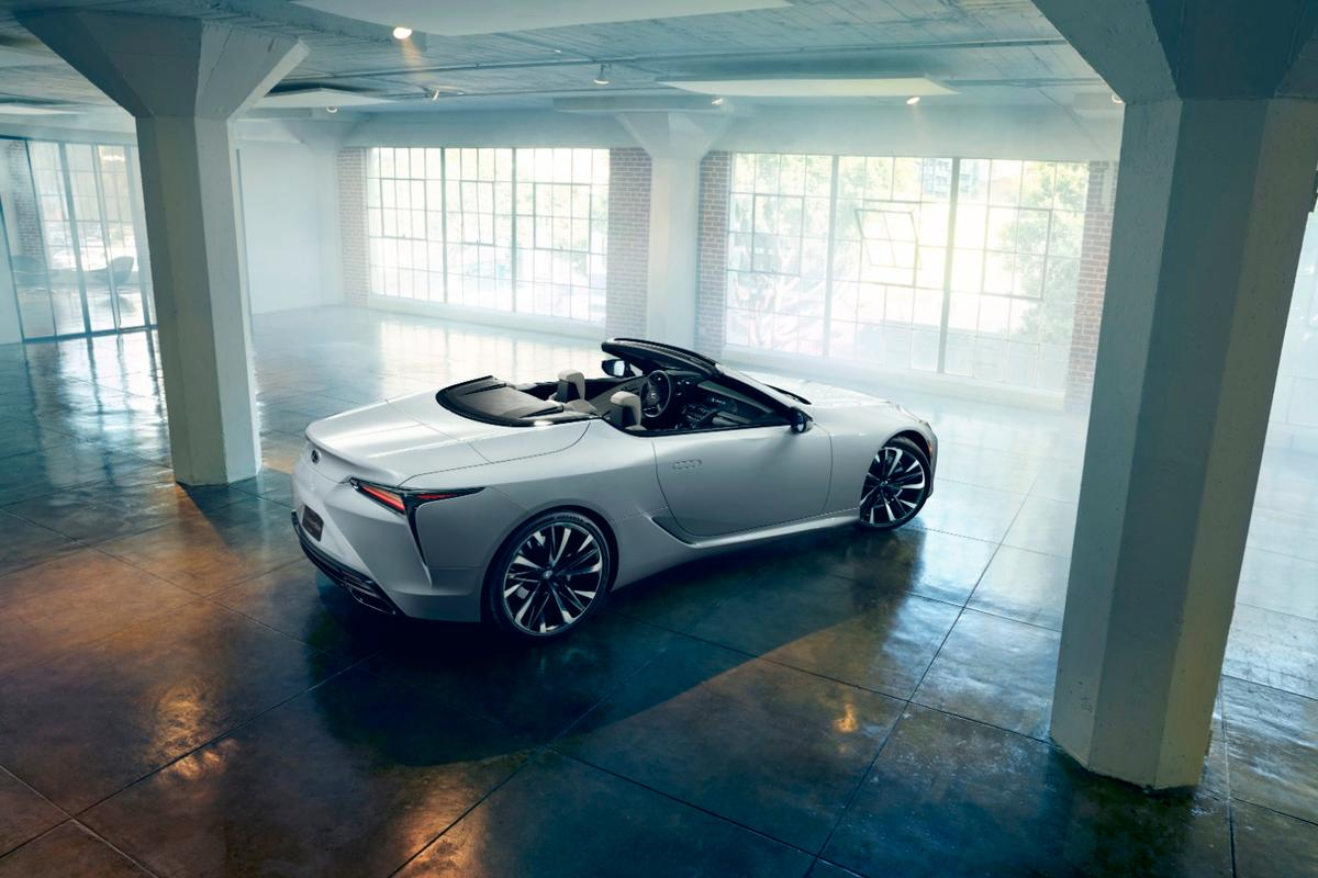 Lexus' LC Convertible concept is headed to Geneva, where it'll likely be mistaken for floor stock