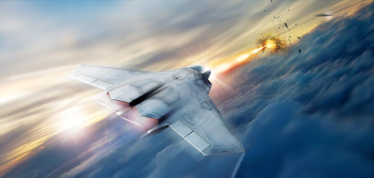 Lockheed Martin is helping the Air Force Research Lab develop and mature high energy laser weapon systems, including the high energy laser pictured in this rendering