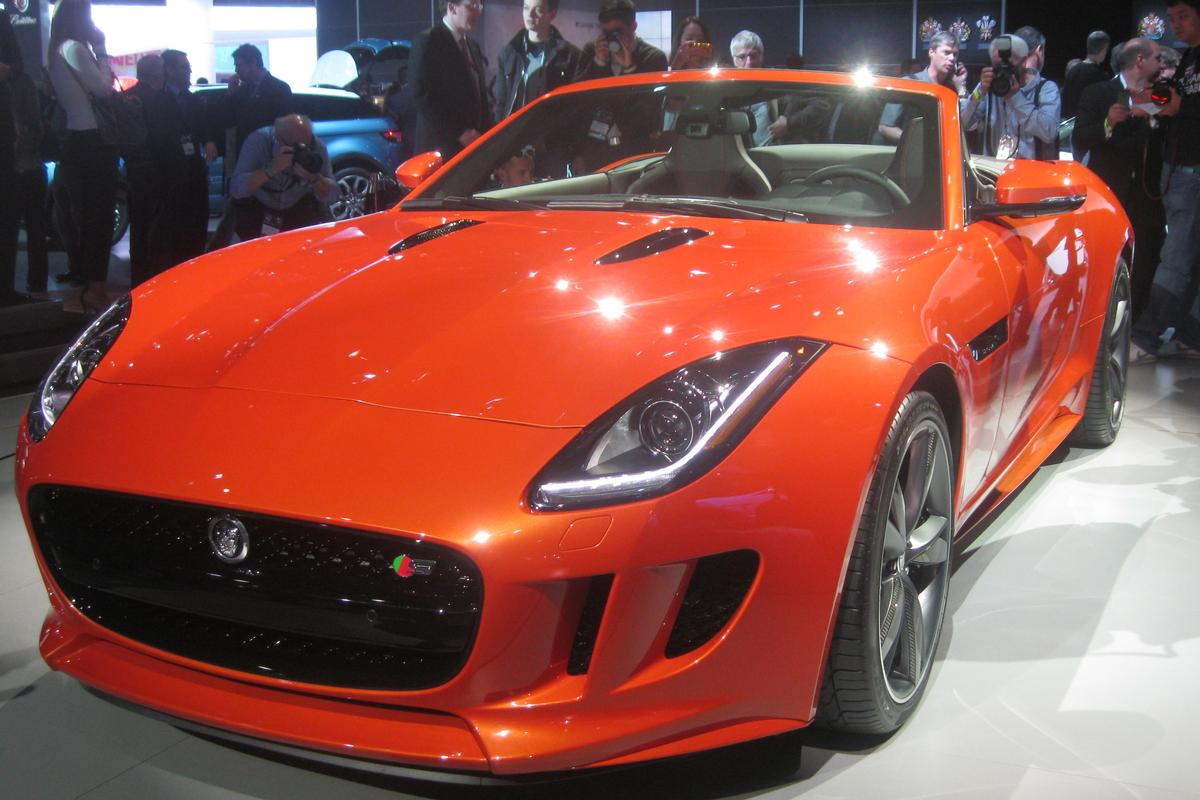 The F-TYPE line has three engine options, including a 5.0-liter supercharged V8