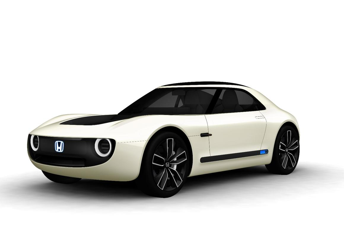 The Honda Sports EV Concept combines electric vehicleperformance with artificial intelligence