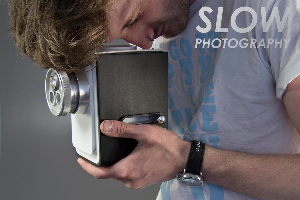 David McCourt's Slow Photography camera prototype