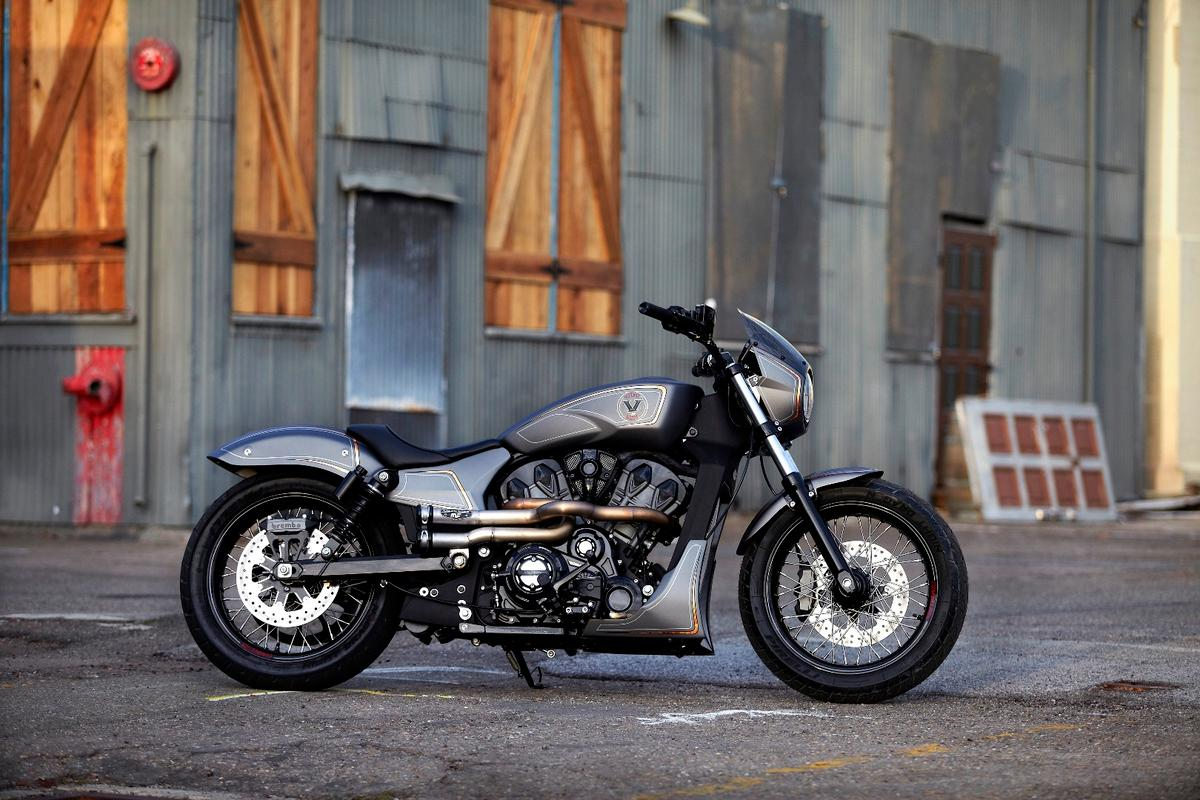 Unveiled in New York, the Combustion is the third and final concept based on Victory's new engine platform