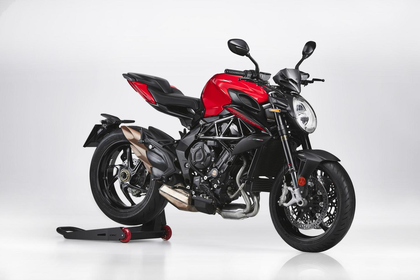 The Rosso the most affordable of the 2021 MV Agusta Brutale family